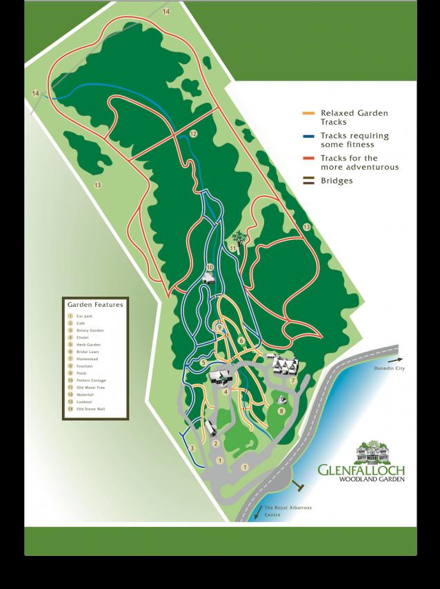 Glenfalloch Garden Map