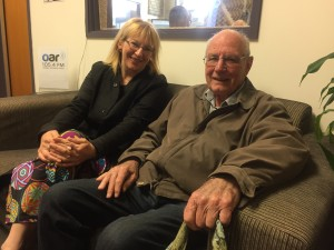 Sophie Barker and Bill Dawson