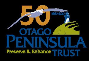 Otago Peninsula Trust - Full Logo + Albatross 50